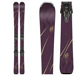 K2 Tough Luv Womens Skis with ERC 11 TCX Bindings 2019, , 256