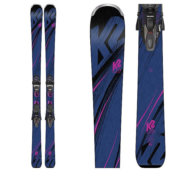 K2 Endless Luv Womens Skis with ERC 11 TCX Bindings 2019, , 600