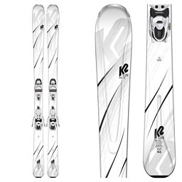 K2 First Luv Womens Skis with ERP 10 Bindings 2019, , 256