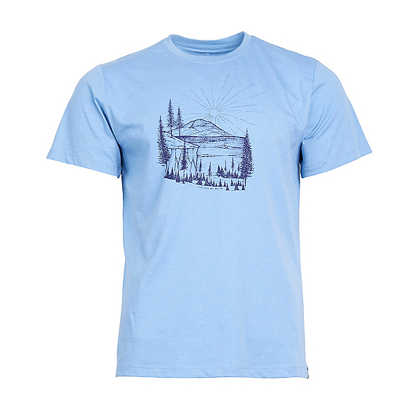 United By Blue First Light T-Shirt, River Blue, 600
