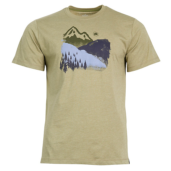 United By Blue Mountain Ink T-Shirt, Olive, 600