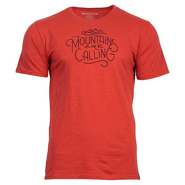 United By Blue Mountains Are Calling T-Shirt, Red Rock, 600