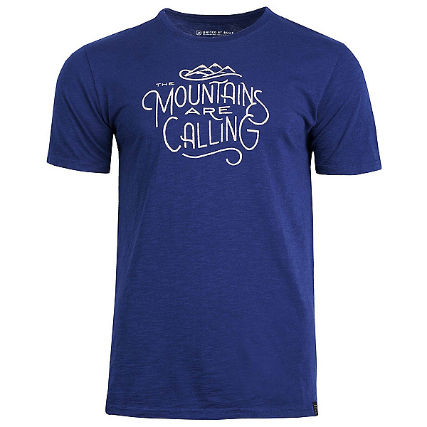 United By Blue Mountains Are Calling T-Shirt, Navy, 600