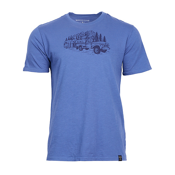 United By Blue Truck and Camper T-Shirt, Blue, 600