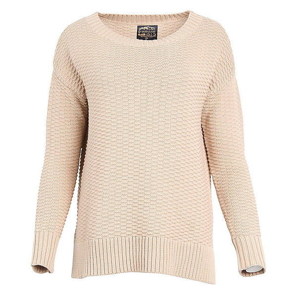 United By Blue Himley Waffle Womens Sweater 2019, Stone, 600