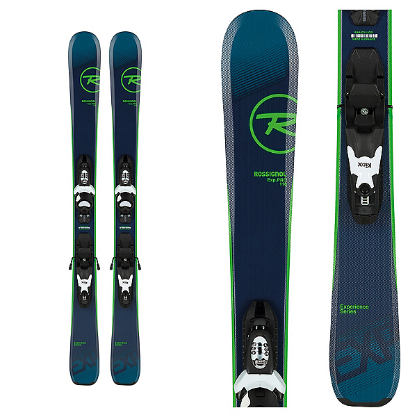 Rossignol Experience Pro Kids Skis with Kid-X 4 Bindings 2020, , 600