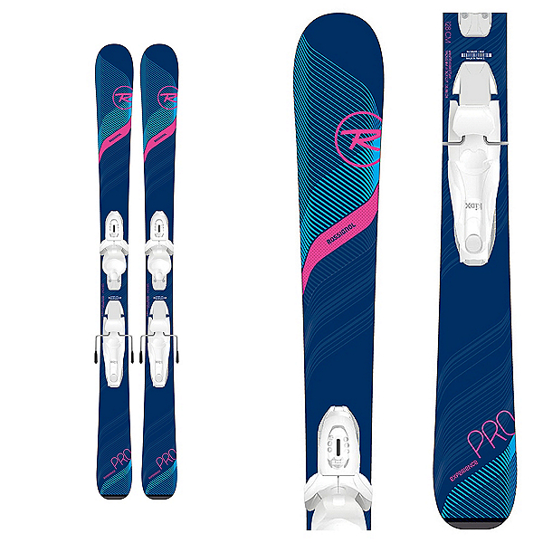 Rossignol Experience Pro W Kids Skis with Kid-X 4 Bindings 2020, , 600