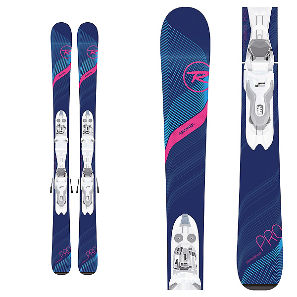 Rossignol Experience Pro W Kids Skis with Xpress J 7 Bindings 2020, , 600