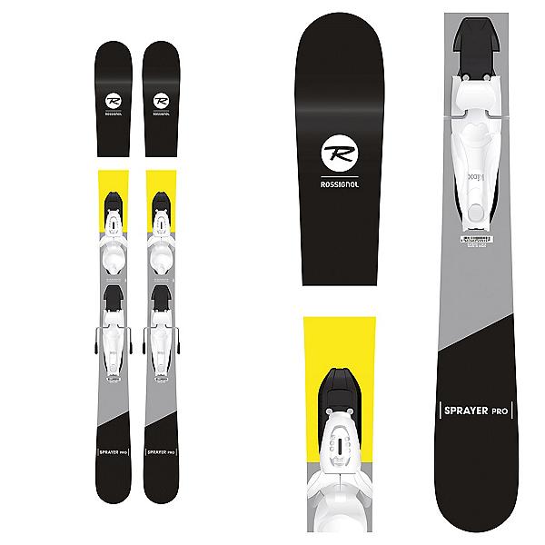 Rossignol Sprayer Pro Kids Skis with Kid-X 4 Bindings, , 600