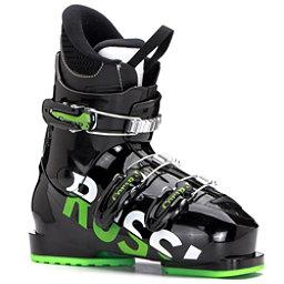 093d1a2b3 Rossignol Comp J3 Kids Ski Boots, Black-Green, 256