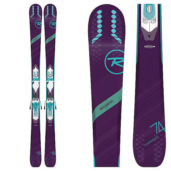 Rossignol Experience 74 W Womens Skis with Xpress 10 Bindings 2019, , 600