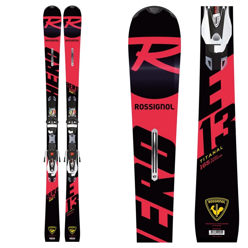 Rossignol Hero Elite Plus Ti Skis with SPX 12 Konect Bindings 2020