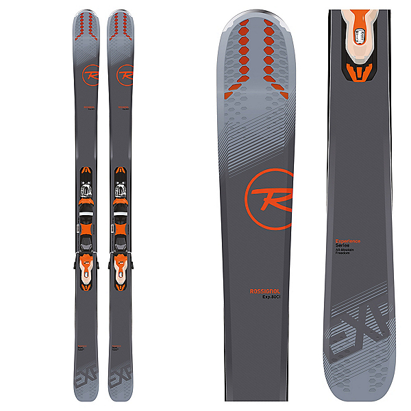 Rossignol Experience 80 CI Skis with Xpress 11 Bindings, , 600