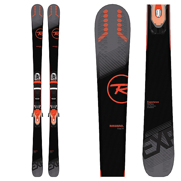 Rossignol Experience 74 Skis with Xpress 10 Bindings 2019, , 600