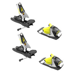 Look SPX 12 Dual Ski Bindings 2019, Concrete-Yellow, 256