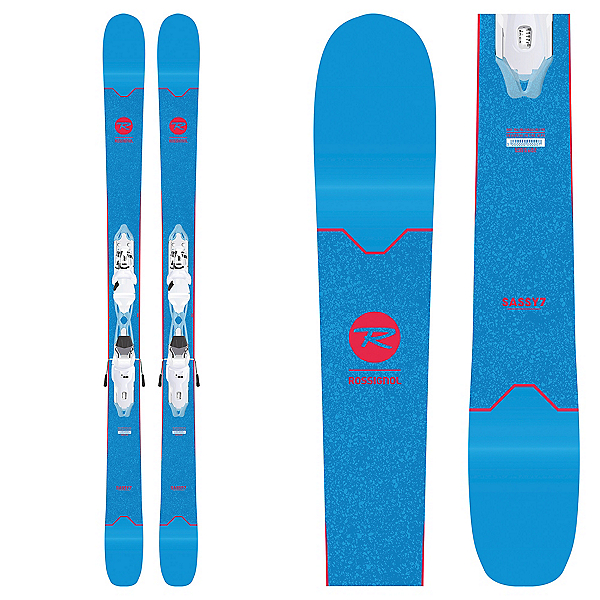 Rossignol Sassy 7 Womens Skis with Xpress 10 Bindings 2019, , 600
