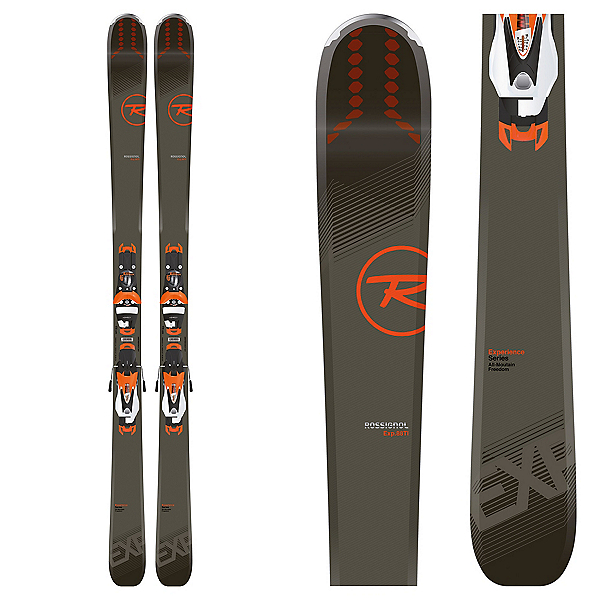 Rossignol Experience 88 Ti Skis with SPX 12 Konect Bindings, , 600