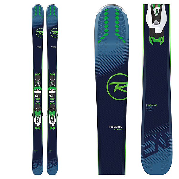 Rossignol Experience 84 AI Skis with SPX 12 Konect Bindings 2019, , 600