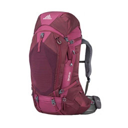 Gregory Deva 60 Womens Backpack 2018, Plum Red, 256