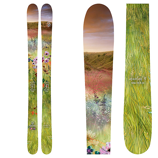 Icelantic Maiden 91 Womens Skis 2019, , 600