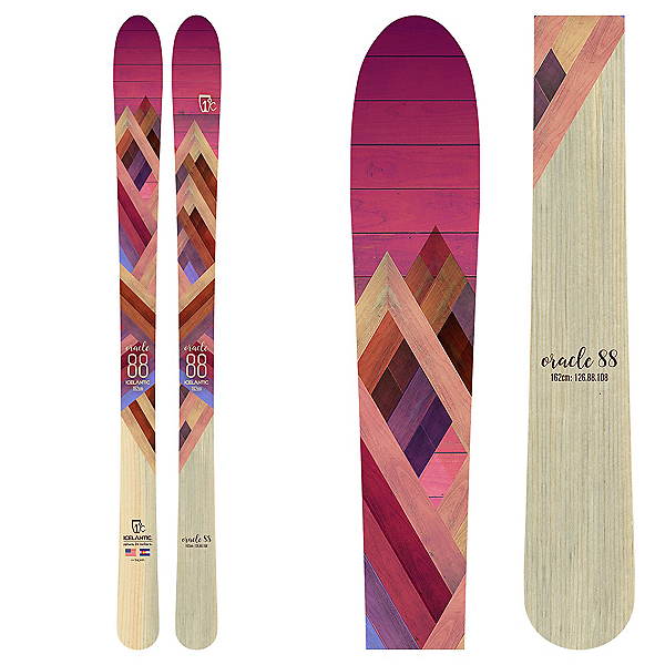 Icelantic Oracle 88 Womens Skis, , 600