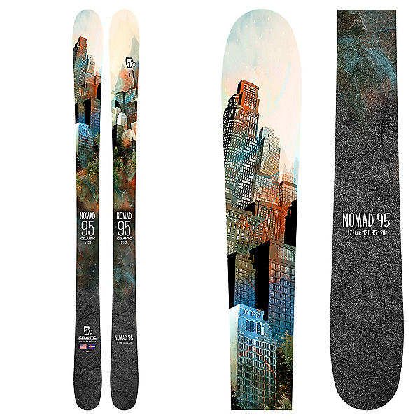Icelantic Nomad 95 Skis, , 600