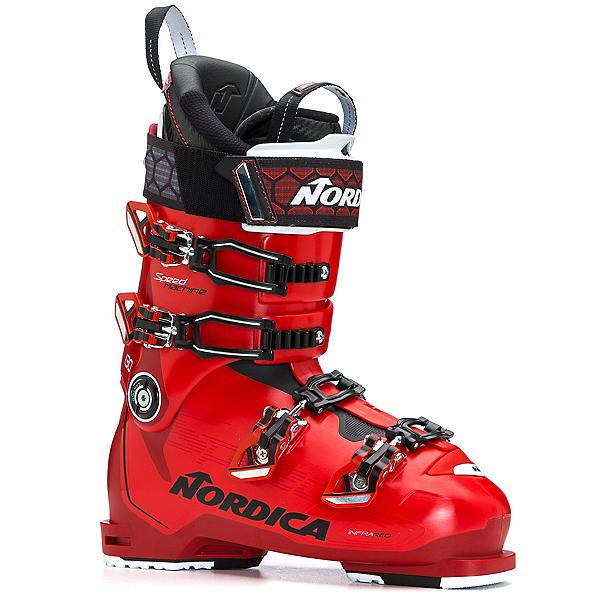 Nordica Speedmachine 130 Ski Boots, Red-Black-White, 600
