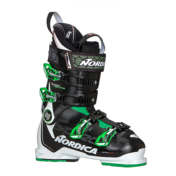 Nordica Speedmachine 120 Ski Boots 2020, Black-White-Green, 600