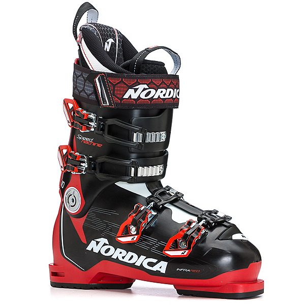 Nordica Speedmachine 110 Ski Boots, Black-Red-White, 600