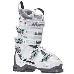 Nordica Speedmachine 85 W Womens Ski Boots 2019, White-Anthracite-Light Blue, 256