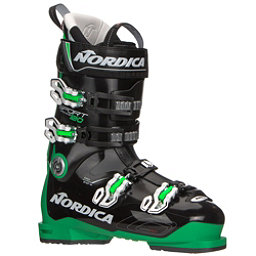 Nordica Sportmachine 120 Ski Boots 2019, Black-Green-White, 256