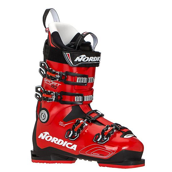 Nordica Sportmachine 110 Ski Boots 2019, Black-Red-White, 600