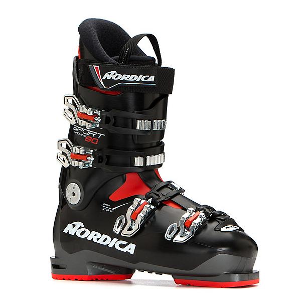 Nordica Sportmachine 80 Ski Boots 2019, Anthracite-Black-Red, 600