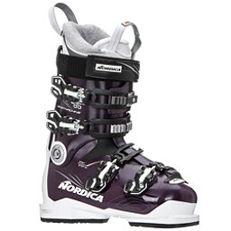 Nordica Sportmachine 85 W Womens Ski Boots 2019, Maroon-White-Black, 256