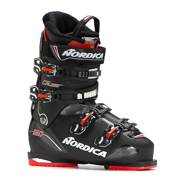 Nordica Cruise 120 Ski Boots, Black-Black-Red, 600