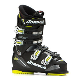 Nordica Cruise 80 Ski Boots 2019, Black-Black-Lime, 256
