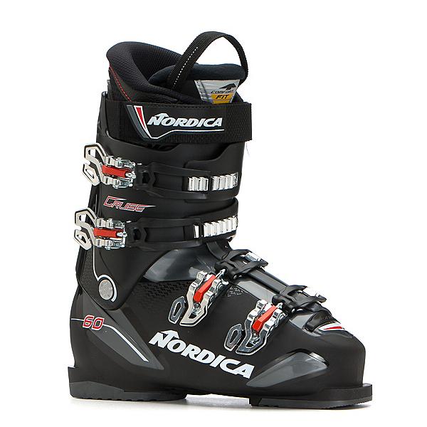 Nordica Cruise 60 Ski Boots, Black-Anthracite-Red, 600