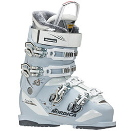 Nordica Cruise 55 W Womens Ski Boots 2019, Ice-White-Bronze, 256