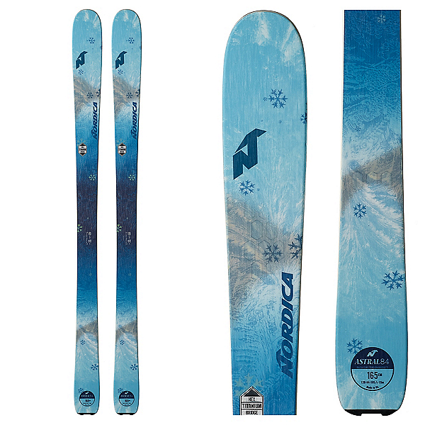 Nordica Astral 84 Womens Skis 2019, , 600