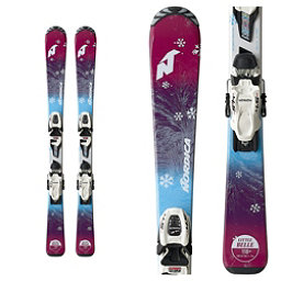 Nordica Little Belle Kids Skis with FDT 7.0 Bindings 2019, , 256