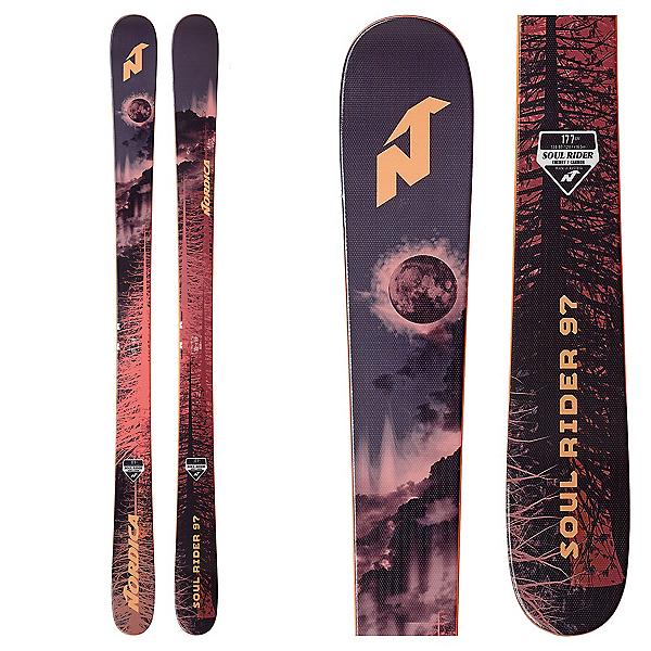 Nordica Soul Rider 97 Skis, , 600