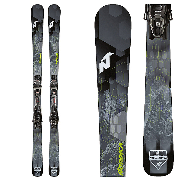 Nordica Navigator 75 CA Skis with TP2 FDT Bindings, , 600