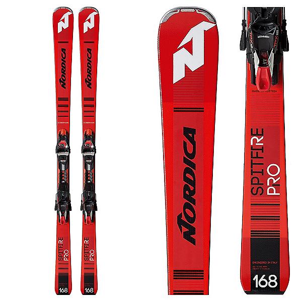 Nordica Dobermann Spitfire Pro FDT Skis with TPX 12 Bindings 2019