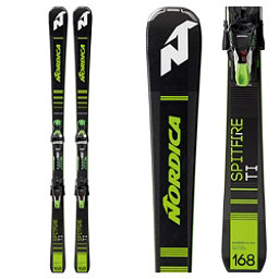 Nordica Dobermann Spitfire TI FDT Skis with TPX 12 Bindings 2019, , 256