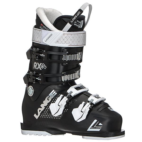 Lange RX 80 W LV Womens Ski Boots, Black, 600