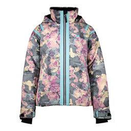 Obermeyer Taja Print Girls Ski Jacket, Vera Camo, 256