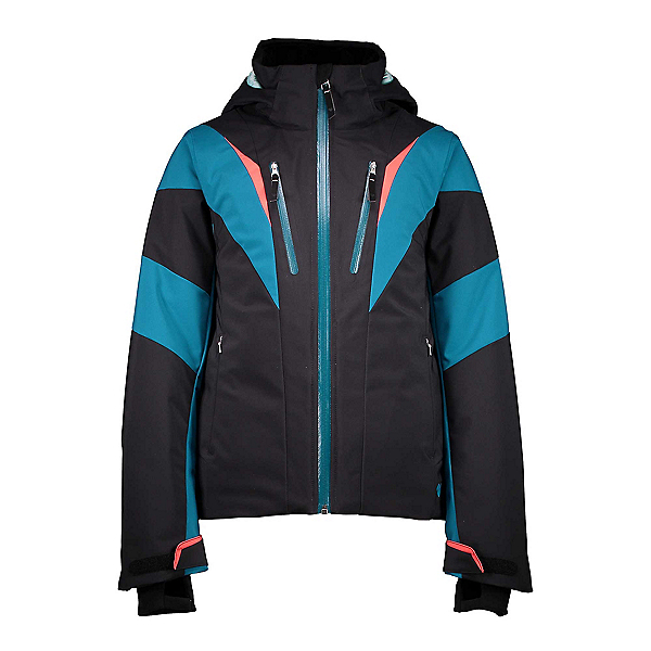 Obermeyer Gray Girls Ski Jacket 2019, Black, 600