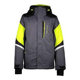 Obermeyer Fleet Boys Ski Jacket, Ebony, 256