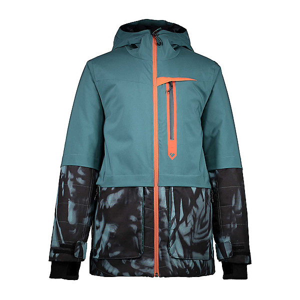 Obermeyer Axel Boys Ski Jacket, Deep Pacific, 600