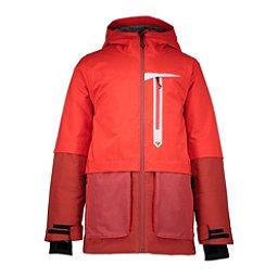 Obermeyer Axel Boys Ski Jacket, Rawhide Red, 256